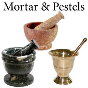 Mortar & Pestels
