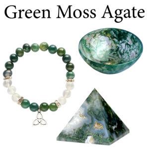 Agate, Green Moss