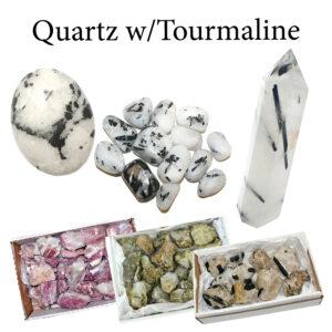 Quartz w/Tourmaline