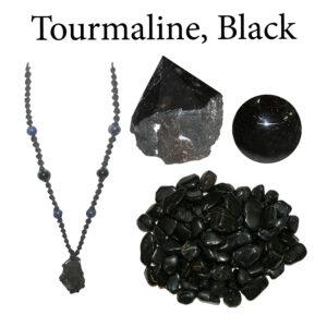 Tourmaline, Black