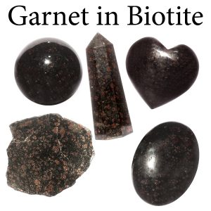 Garnet in Biotite