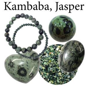 Jasper, Kambaba