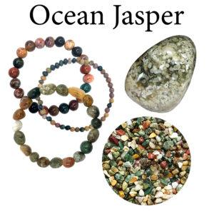 Jasper, Ocean