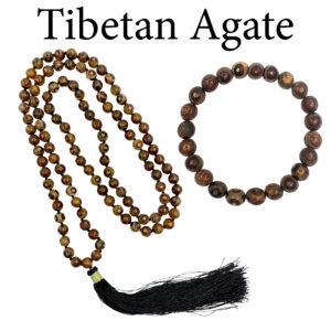 Agate, Tibetan