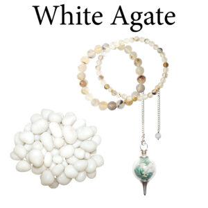 Agate, White