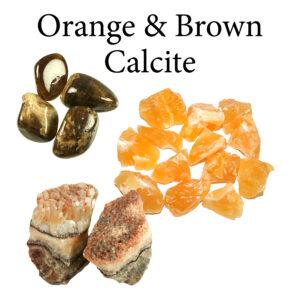 Calcite, Orange