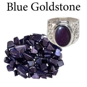 Goldstone, Blue