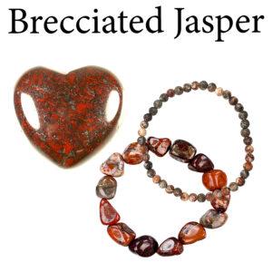 Jasper, Brecciated