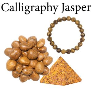 Jasper, Calligraphy