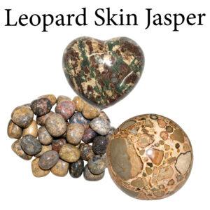 Jasper, Leopard Skin
