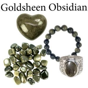 Obsidian, Goldsheen