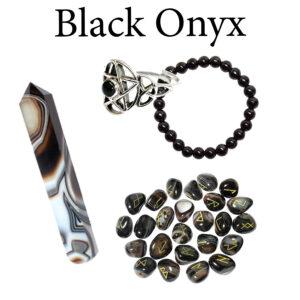 Onyx, Black