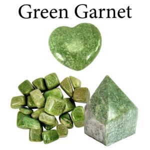 Garnet, Green