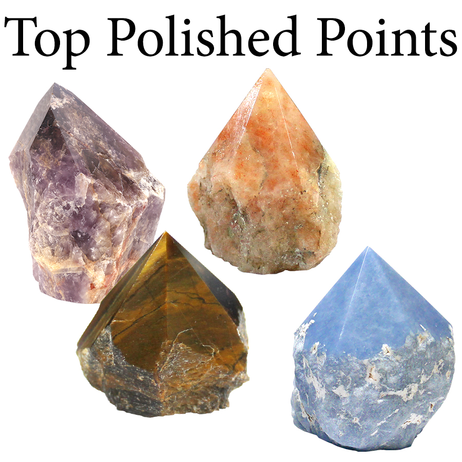 Points with Top Polished