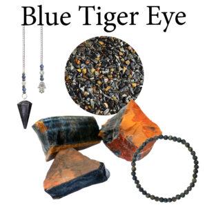 Tiger Eye, Blue