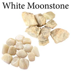 Moonstone, White